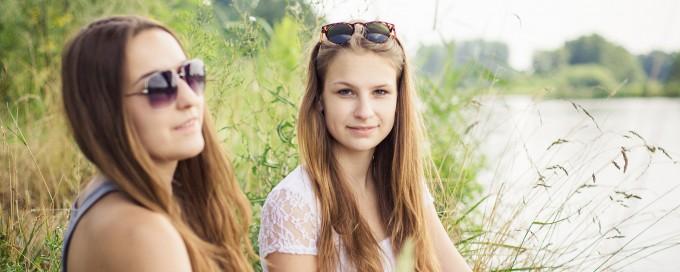 Feundinnen (Leonie und Martina)