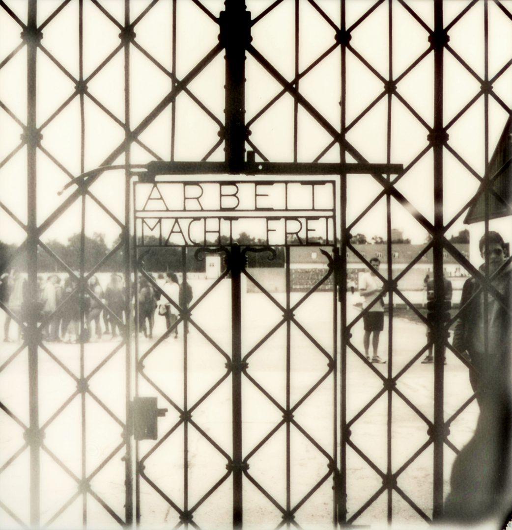 KZ Gedenkstätte Dachau: Eingangstor